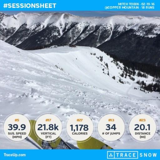 ski apps trace snow