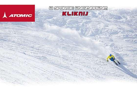 link do strony poświęconej marce Atomic i jej sukcesom w sportach zimowych
