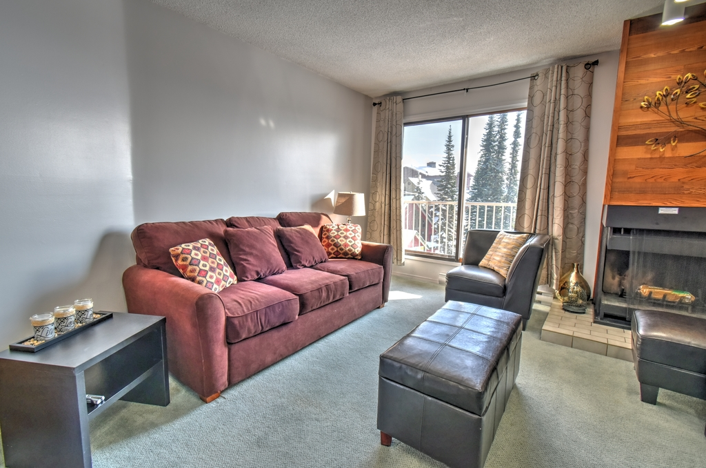 Whitefoot Lodge 1 bed condo Big White