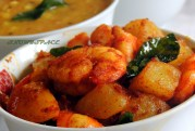 Prawn with Potatoes
