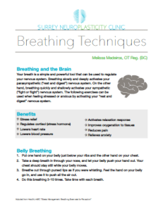 Breathing techniques document