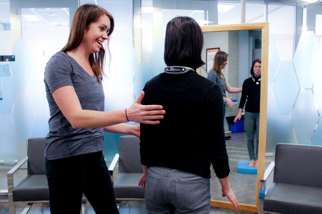 Balance neurorehabilitation practice