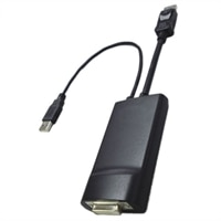 DisplayPort to Dual Link DVI Adapter for Dell Optiplex 790 Desktop / Precision M4600 Mobile WorkStations