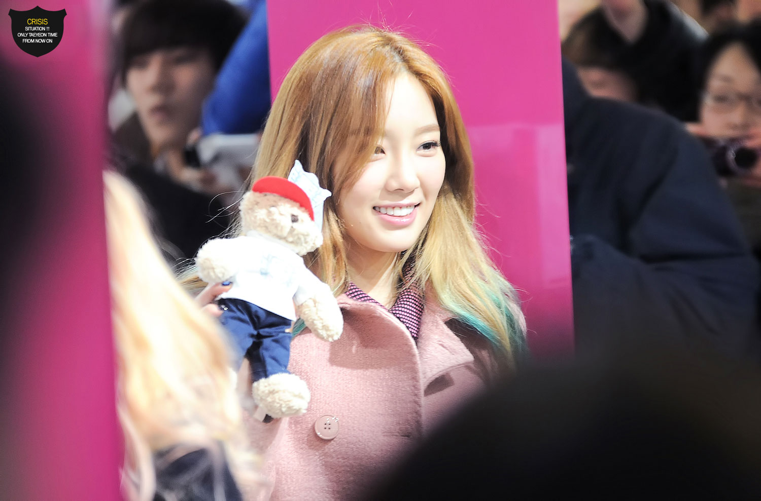 Snsd Taeyeon Lotte pop up store