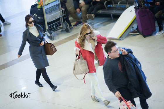 Jessica Yuri Gimpo Airport fashion