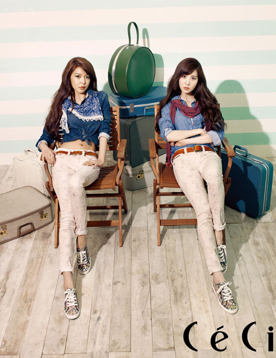 Snsd Seohyun Sooyoung Tommy Hilfiger Ceci
