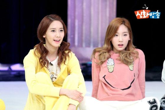 Taeyeon Yoona JTBC Shinhwa Broadcast