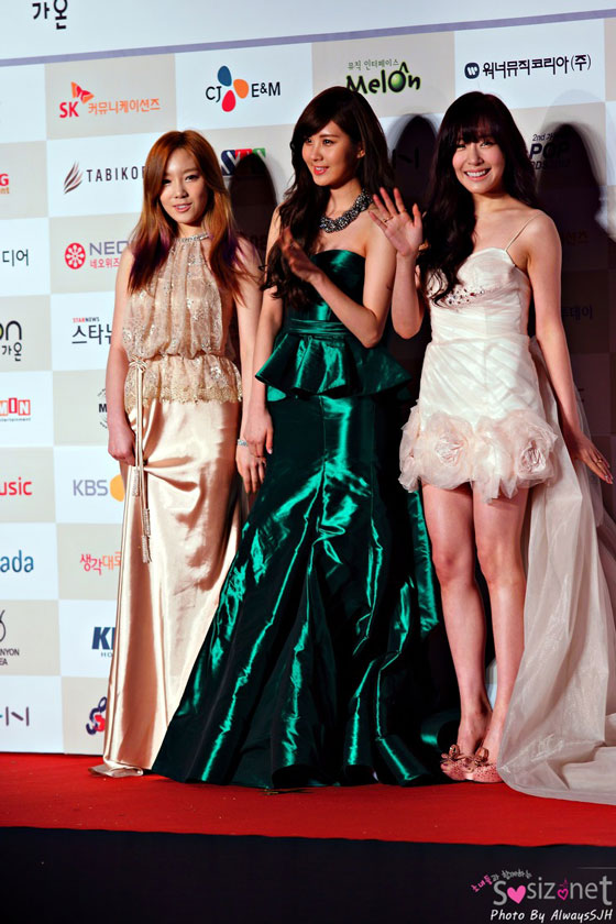 Snsd TaeTiSeo Gaon Chart Kpop Awards