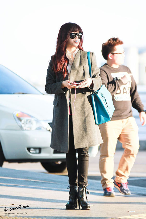 Snsd Tiffany Incheon Airport style
