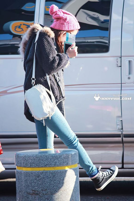 Snsd Yoona Incheon Airport style
