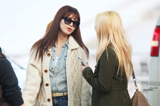 Seohyun Hyoyeon Incheon International Airport