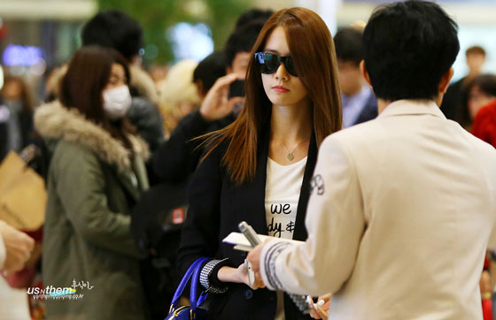 Snsd Yoona Gimpo Airport style