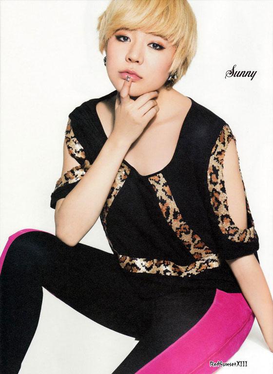 SNSD Sunny Sone Note Japanese magazine