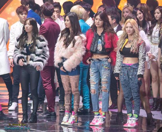 SNSD Girls Generation KBS Gayo Daechukje 2013