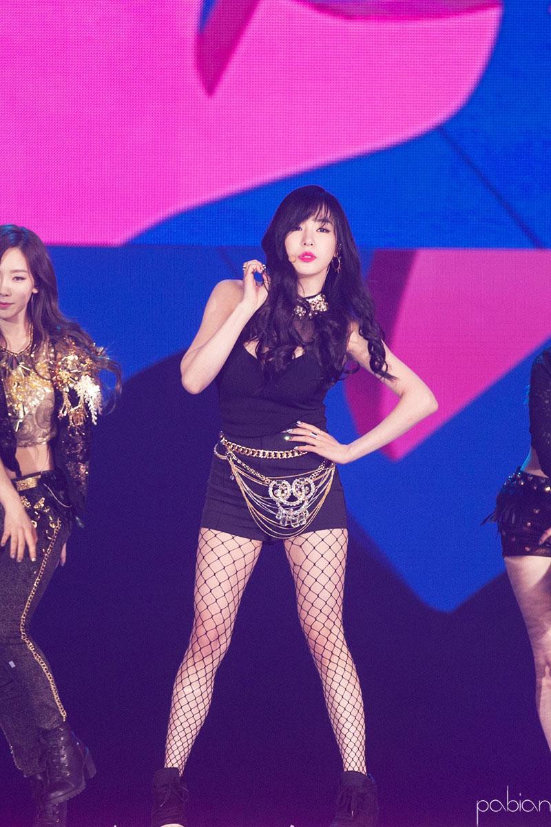 SNSD Tiffany SBS Gayo Daeju 2013