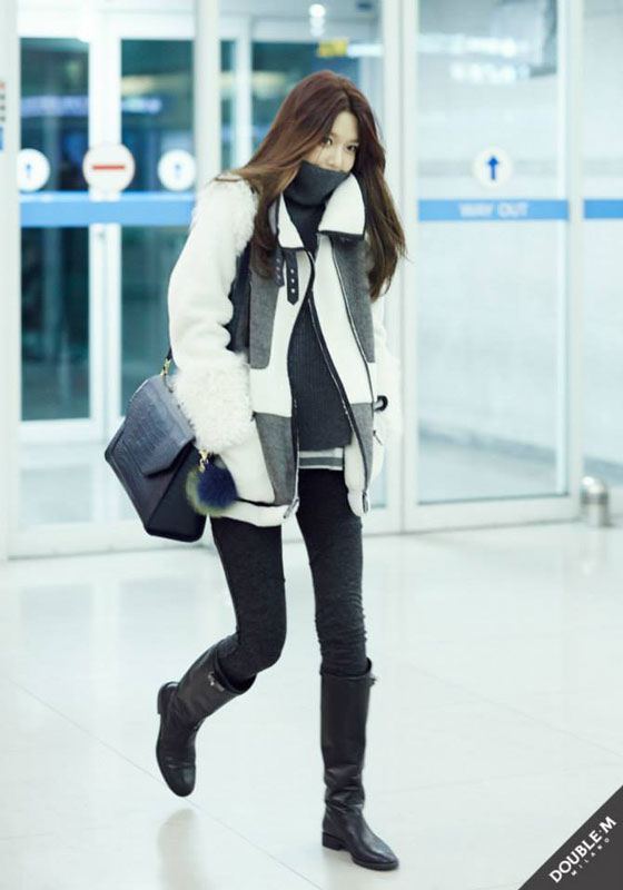SNSD Sooyoung Incheon to Bangkok airport style