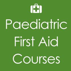 Paediatric first aid training course – 2 day