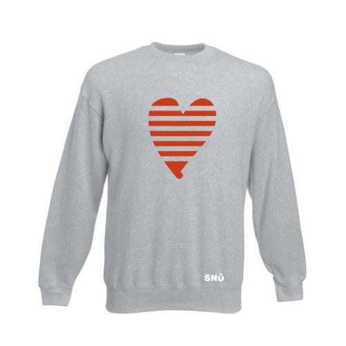 Snu Wear - Valentine Heart Sweatshirt