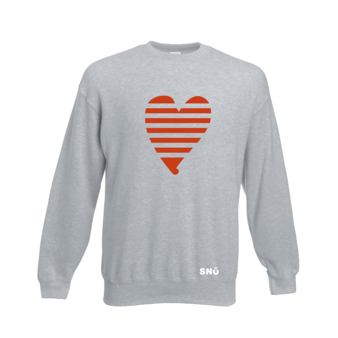 Snu Wear - Valentine Heart Sweatshirt