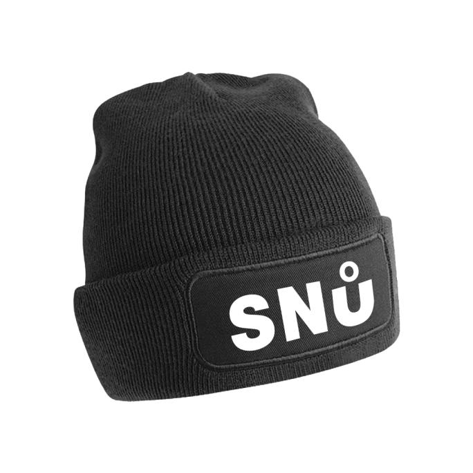 Black Snu Wear Beanie