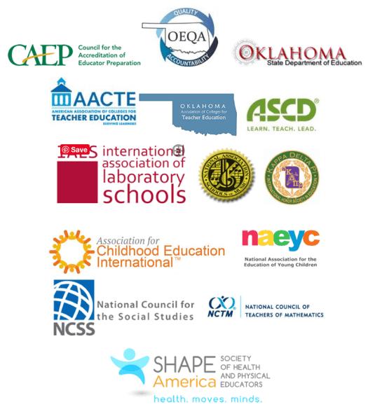 School of Education Accreditation logos