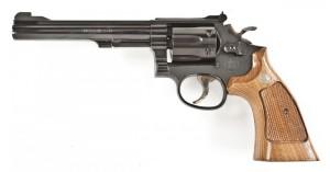 6-inch S&W m17 .22 Revolver