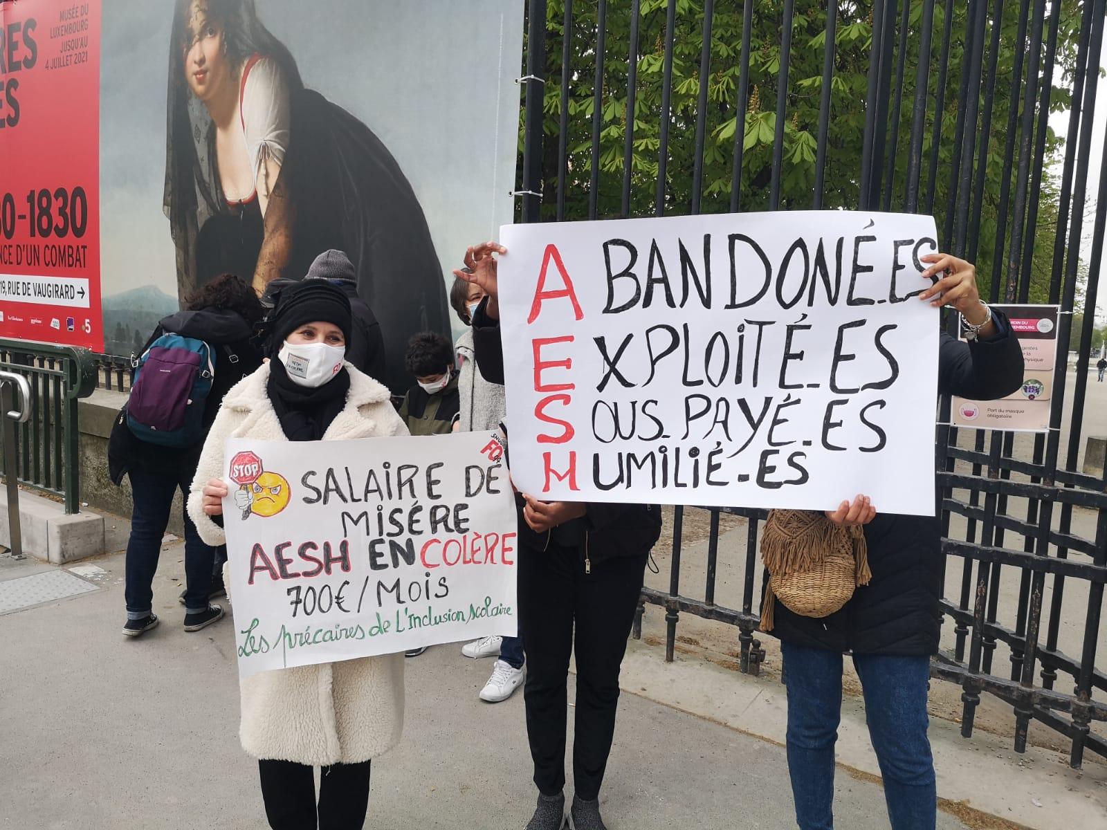 AESH : Appel unitaire Val-de-Marne à la grève et la manifestation du 19 octobre