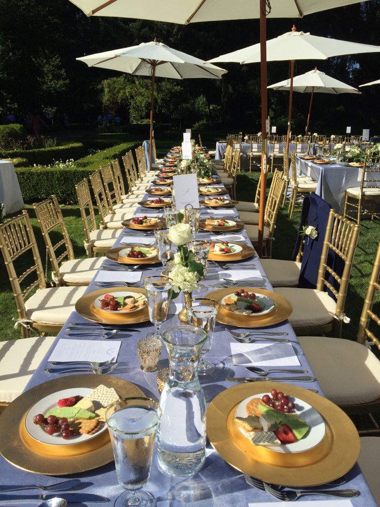 rental chairs & tables
