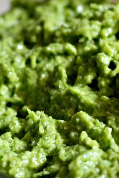 Garlic Scape Pesto with Basil – 10 Minute Recipe