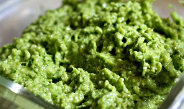 Garlic Scape Pesto with Basil Recipe #garlicpesto #pestorecipe #basilrecipe