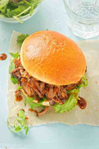 Crazy Good and Insanely Easy Pulled Pork Sandwiches