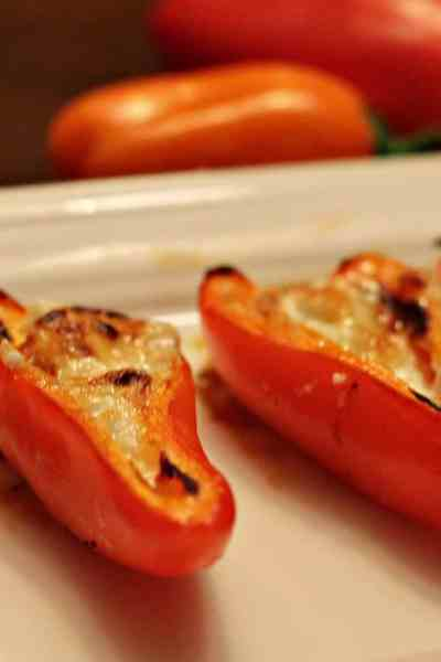 How to Make Simple Yet Impressive Honey & Goat Cheese Peppers