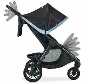britax-b-free-stroller-frost-2