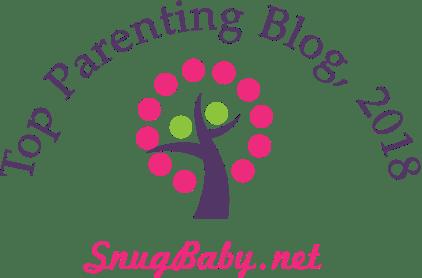 SnugBaby.net Top 10 Parenting Blog, 2018