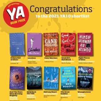 YA Book Prize 2021 Shortlist