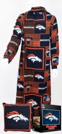 Denver Broncos Snuggie Pillow