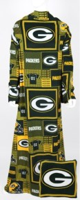 Green Bay Packers Snuggie Pillow