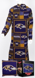 Baltimore Ravens Snuggie Pillow
