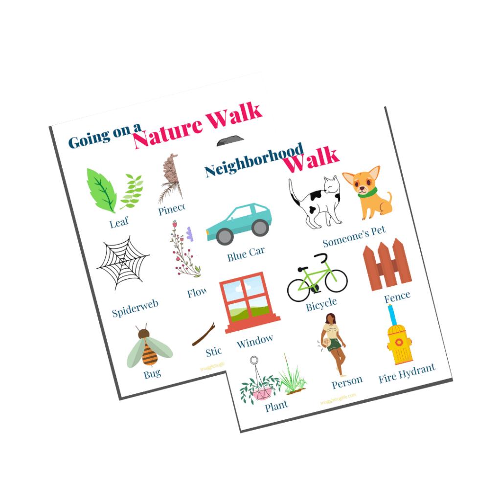 Scavenger walk
