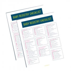 Baby Registry Checklist image