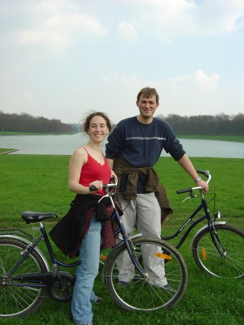 Versailles by bike, 2005