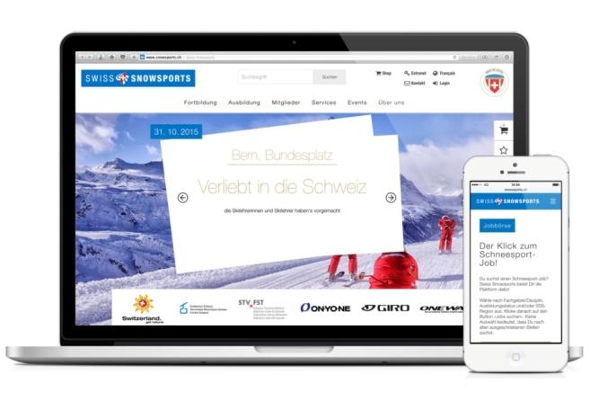 Swiss Snowsports Startseite