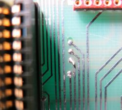 Simmons SDS 7 short on the bus-board