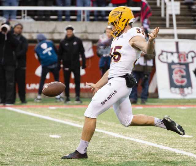 Asu Punter Michael Turk Declares For Nfl Draft The State Press