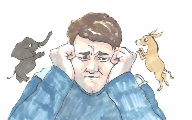 Opinion: Constant exposure to politics is bad for mental health ...