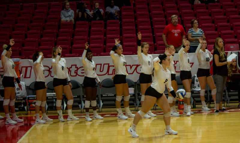Womens Volleyball Enters MAC Season Against Western Michigan Ball State Daily