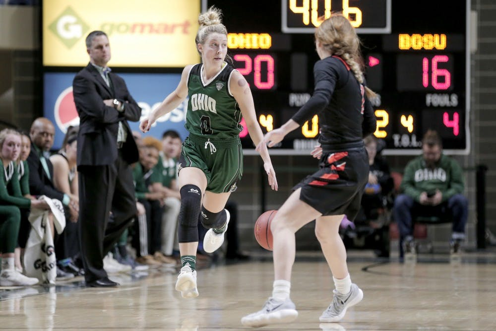 Women's Basketball: Ohio focused on earning top-four seed in MAC Tournament