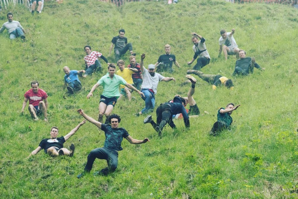Fun News Friday: Introducing the Cheese Rolling Champion