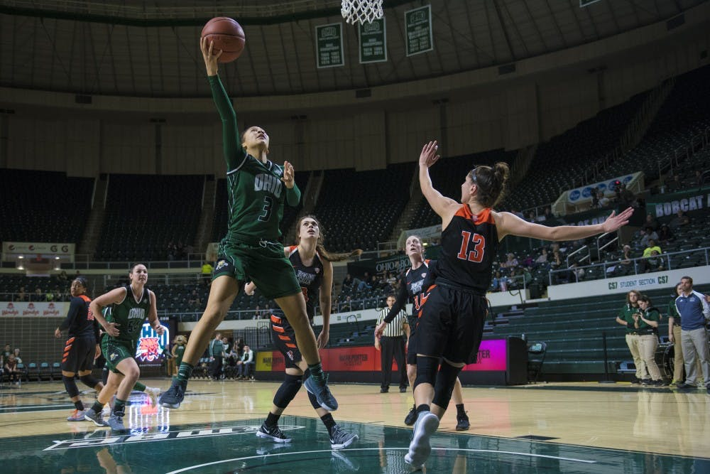 Women's Basketball: How the Bobcats' trap was effective against Bowling Green