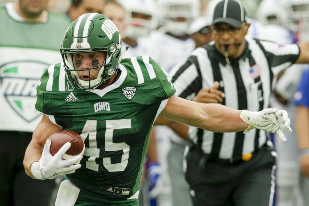 Football: Ohio running game shows against UMass why it's the best in the MAC